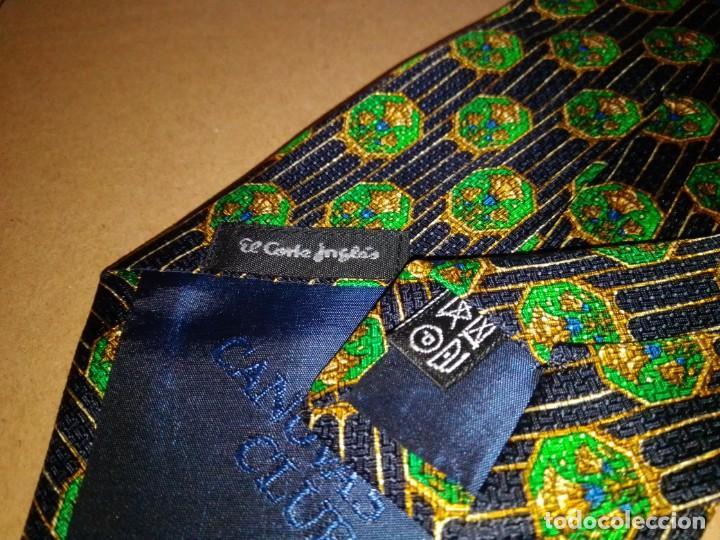 Segunda Mano: Original corbata de seda. Cánovas club. El Corte Inglés. - Foto 4 - 183781267