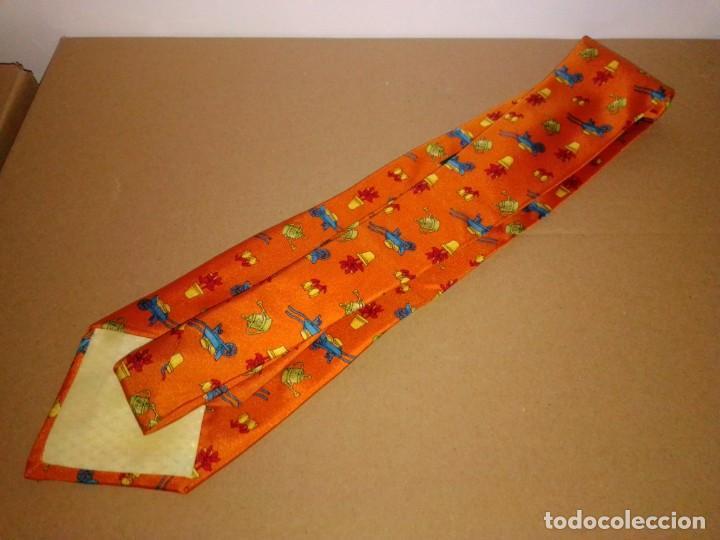 Segunda Mano: Original corbata de seda. Smart Nyman. El Corte Inglés. - Foto 2 - 183781728