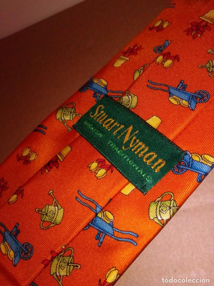 Segunda Mano: Original corbata de seda. Smart Nyman. El Corte Inglés. - Foto 3 - 183781728