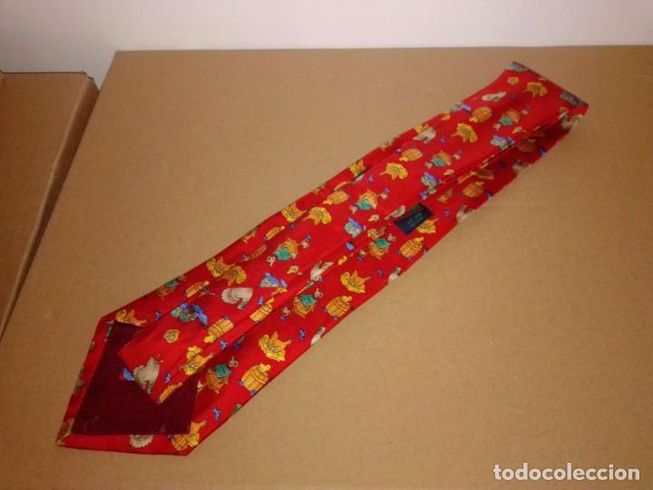 Segunda Mano: Original corbata de seda. Dustin. El Corte Inglés. - Foto 2 - 183783247