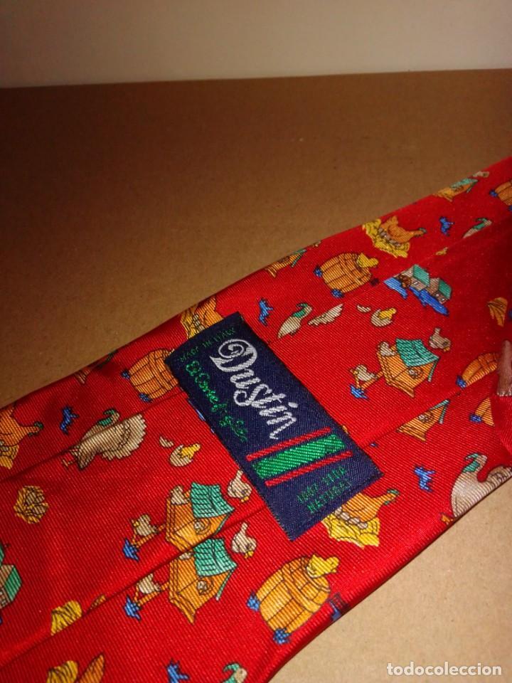 Segunda Mano: Original corbata de seda. Dustin. El Corte Inglés. - Foto 3 - 183783247