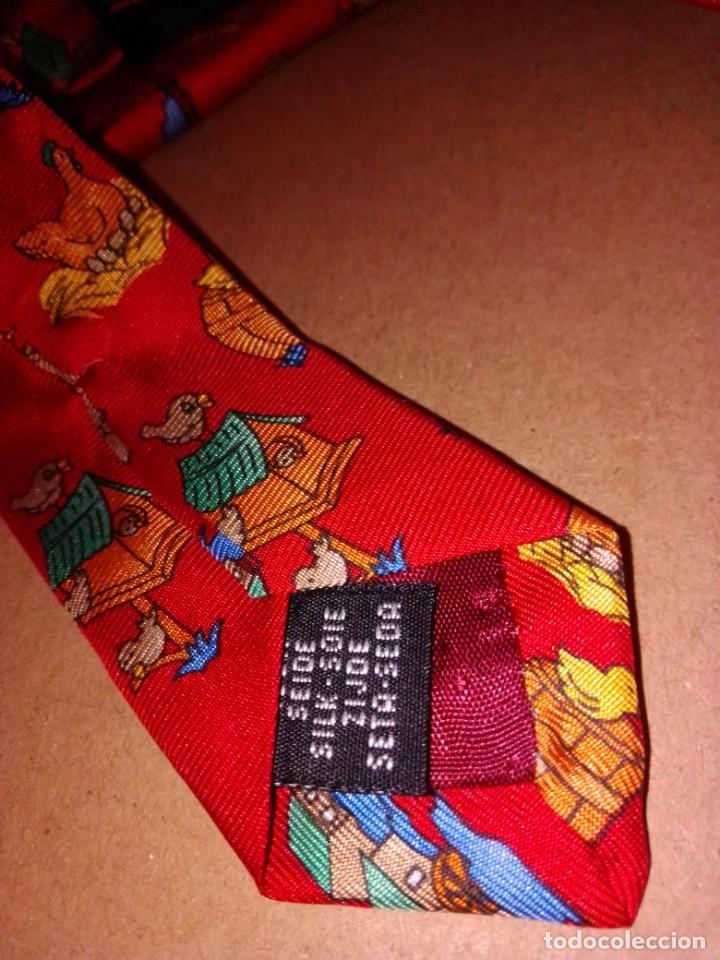 Segunda Mano: Original corbata de seda. Dustin. El Corte Inglés. - Foto 4 - 183783247
