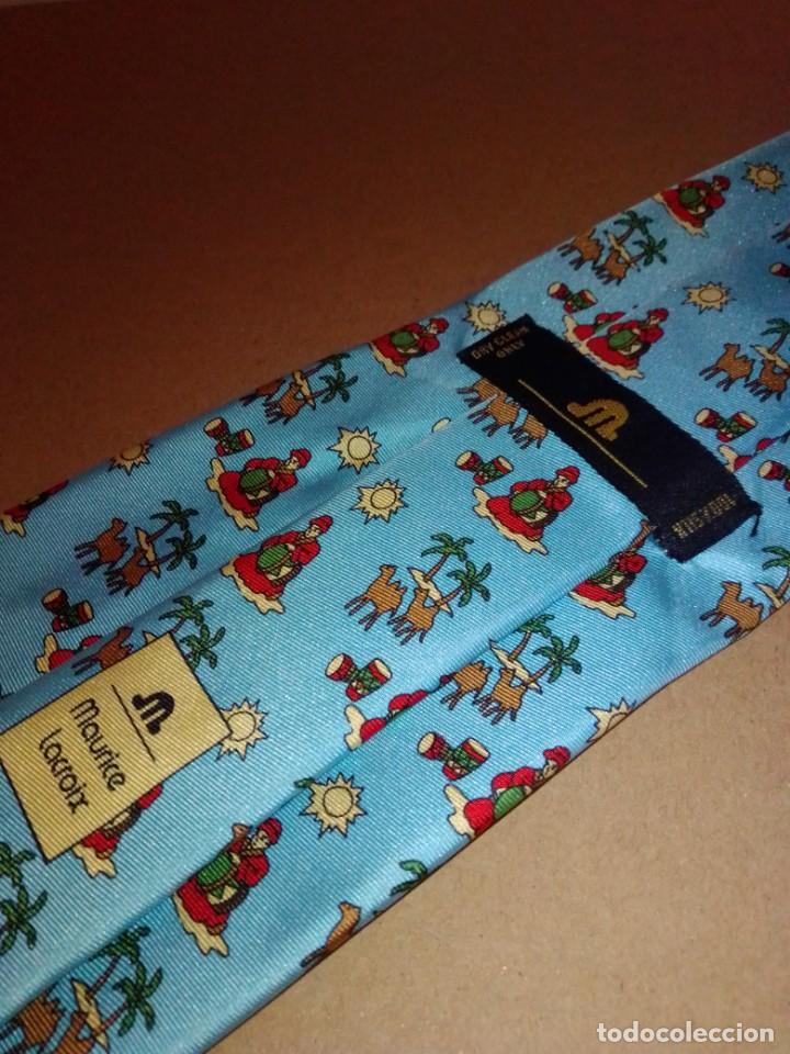 Segunda Mano: Original corbata de seda. Maurice Lacroix. El Corte Inglés. - Foto 3 - 183783610