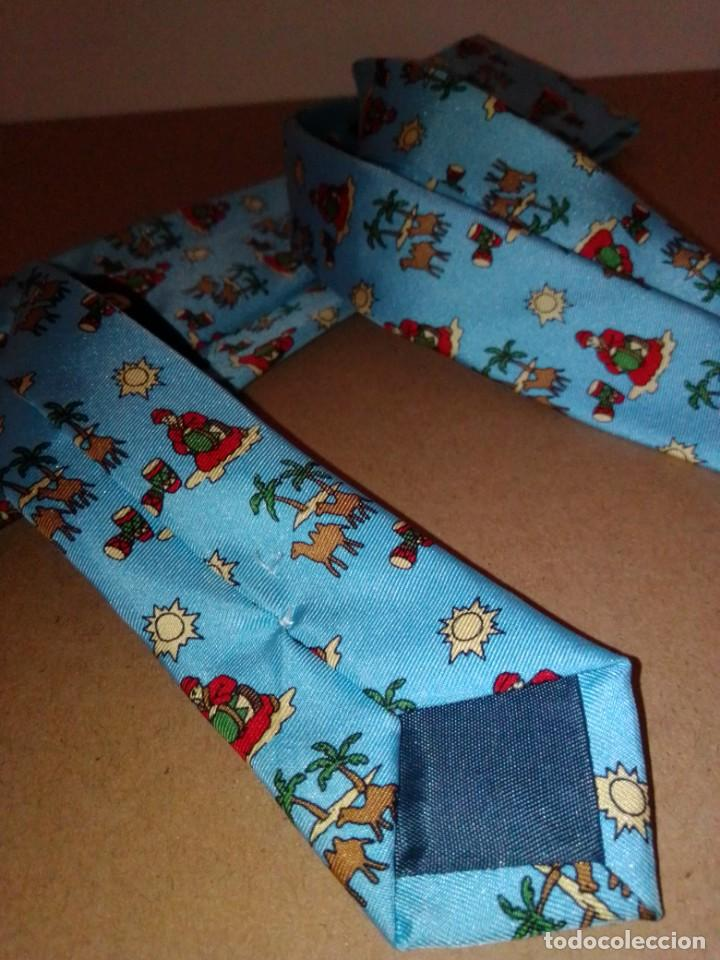 Segunda Mano: Original corbata de seda. Maurice Lacroix. El Corte Inglés. - Foto 4 - 183783610