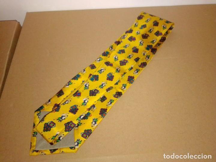 Segunda Mano: Original corbata de seda. Scott of Mildavia. El Corte Inglés. - Foto 2 - 183784070