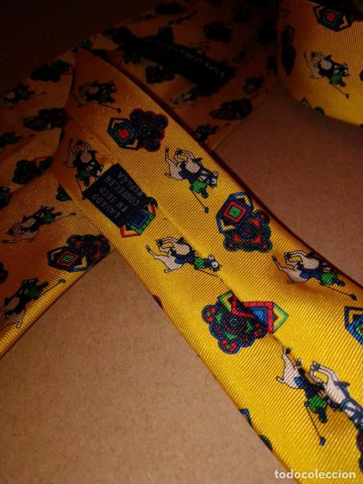 Segunda Mano: Original corbata de seda. Scott of Mildavia. El Corte Inglés. - Foto 4 - 183784070