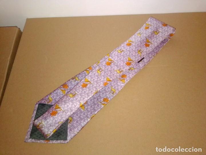 Segunda Mano: Original corbata de seda. Andreu. El Corte Inglés. - Foto 2 - 183785640