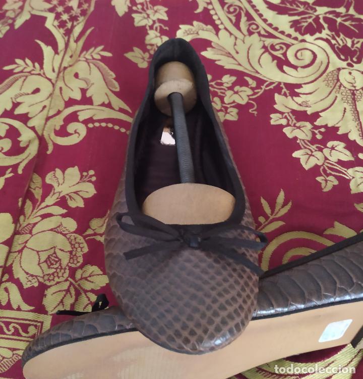 Segunda Mano: Manoletinas bailarinas, Sfera. Marrones. Talla 39 - Foto 3 - 186031841