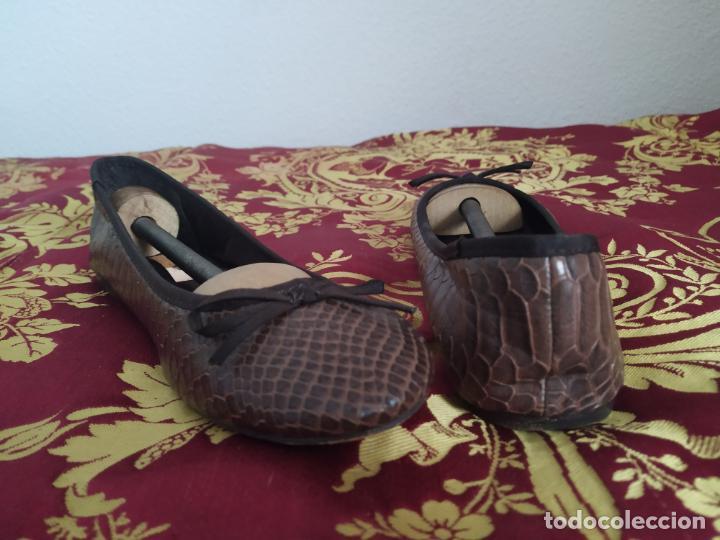 Segunda Mano: Manoletinas bailarinas, Sfera. Marrones. Talla 39 - Foto 4 - 186031841