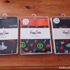 Segunda Mano: SLIPS DIVERTIDOS DE HAPPY SOCKS. Lote 194715708