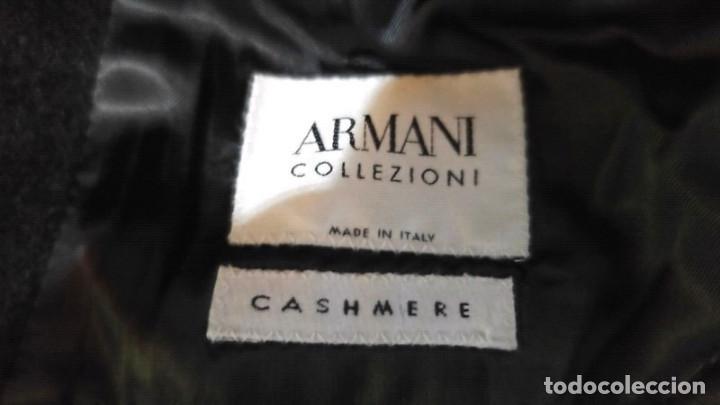 Segunda Mano: Abrigo hombre ARMANI Talla XXL (44R) , Cashmere - Foto 4 - 195138923