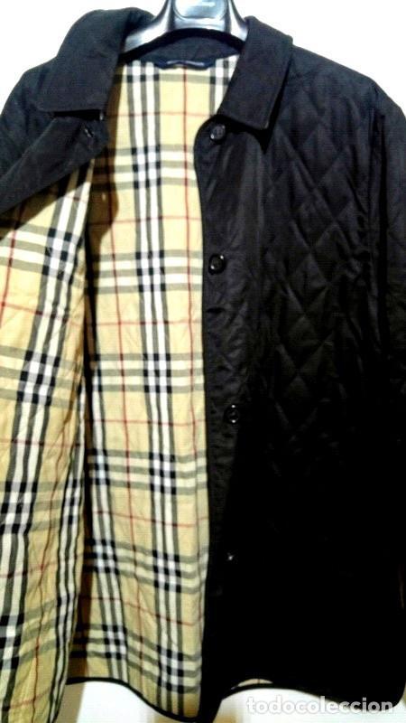 Segunda Mano: Chaqueta para hombre Burberry negra talla XL color negro - Foto 2 - 195284627