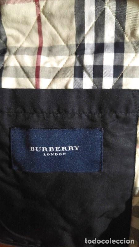 Segunda Mano: Chaqueta para hombre Burberry negra talla XL color negro - Foto 3 - 195284627