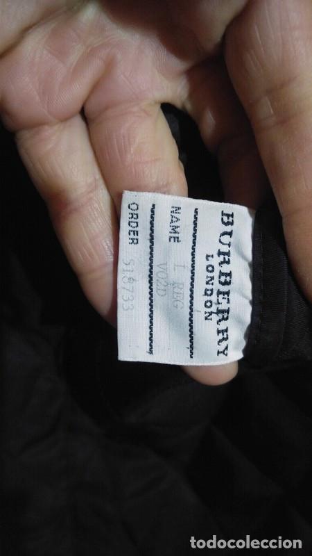 Segunda Mano: Chaqueta para hombre Burberry negra talla XL color negro - Foto 5 - 195284627