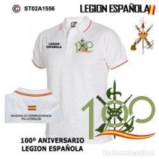 Segunda Mano: POLO CON ESCUDO DEL 100 AÑOS DE LEGIÓN ESPAÑOLA. Lote 235879990
