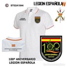 Segunda Mano: POLO 100 AÑOS DE LEGIÓN ESPAÑOLA - LEGIONARIOS A LUCHAR. Lote 235879950