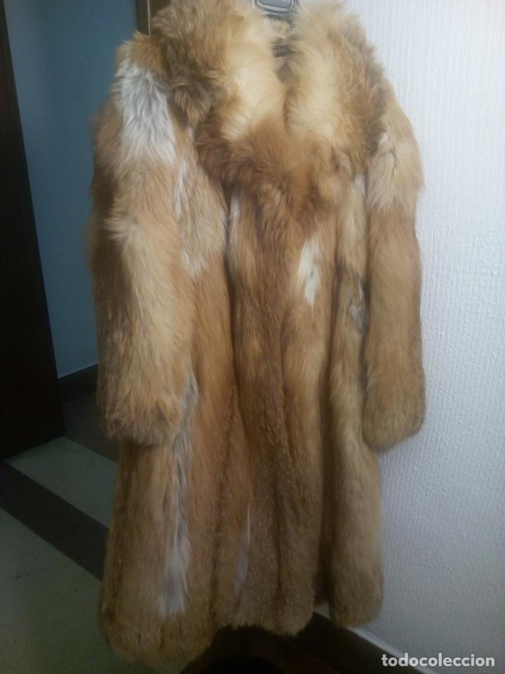 Segunda Mano: Abrigo piel zorro canadiense talla 44 46 impecable. - Foto 3 - 202917920
