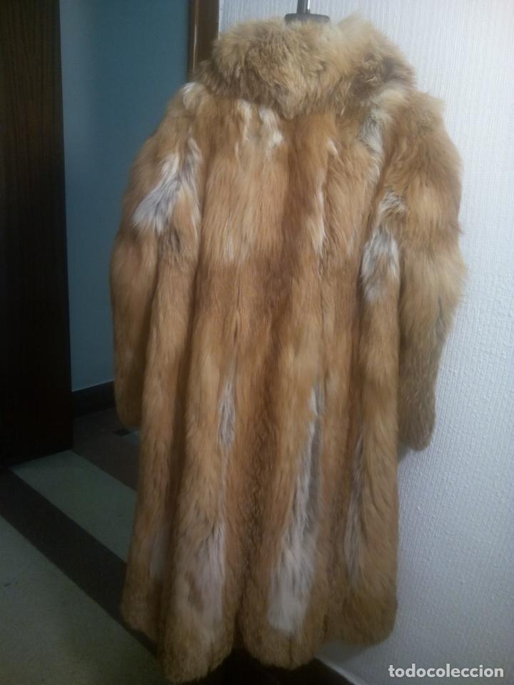 Segunda Mano: Abrigo piel zorro canadiense talla 44 46 impecable. - Foto 5 - 202917920