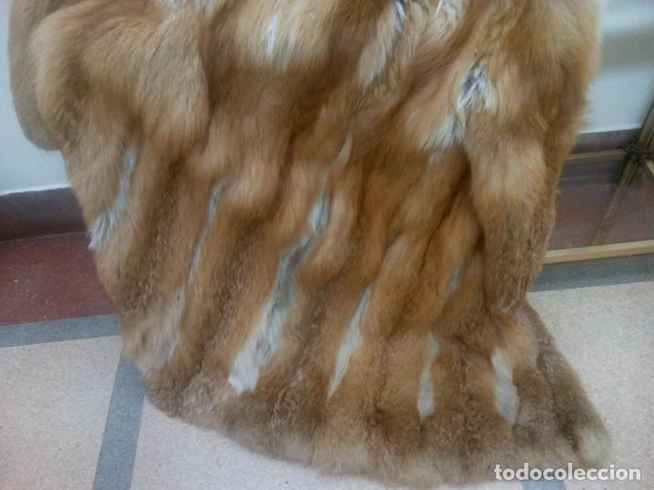 Segunda Mano: Abrigo piel zorro canadiense talla 44 46 impecable. - Foto 8 - 202917920