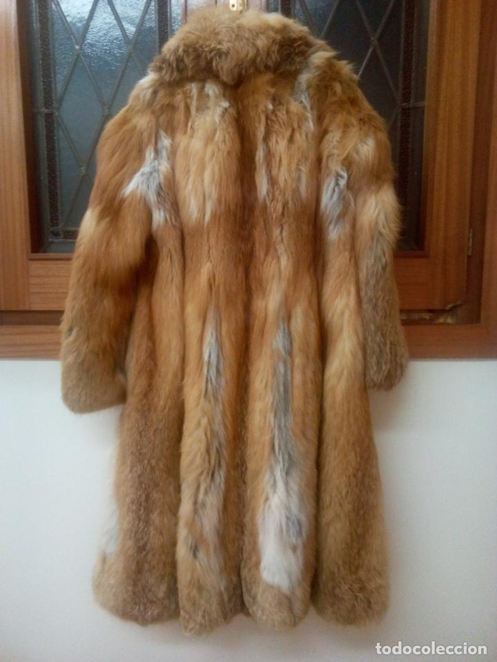 Segunda Mano: Abrigo piel zorro canadiense talla 44 46 impecable. - Foto 12 - 202917920