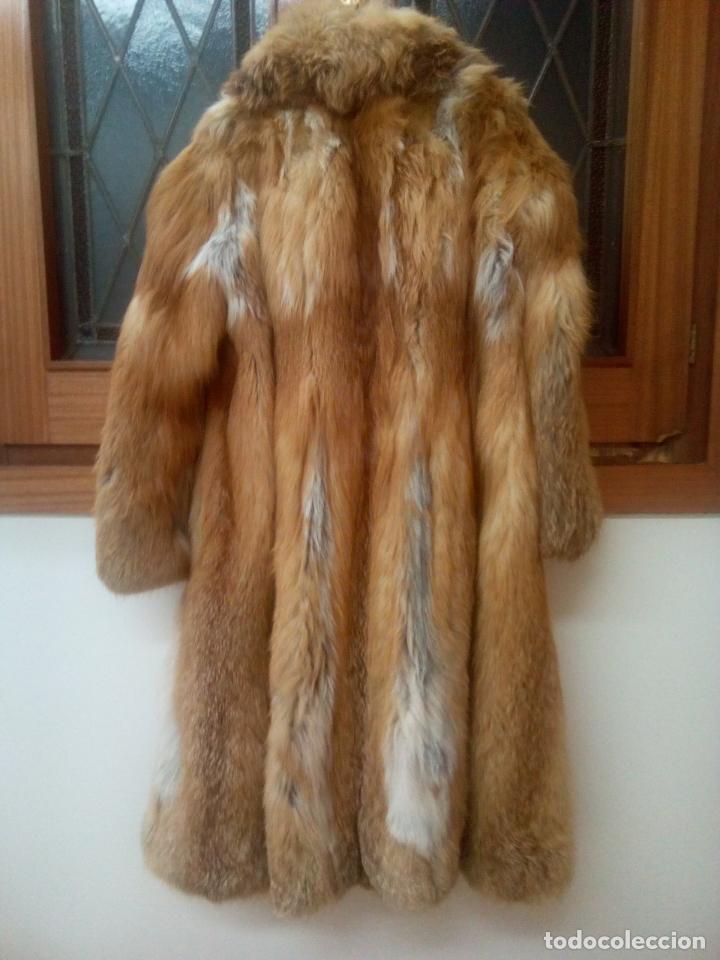 Segunda Mano: Abrigo piel zorro canadiense talla 44 46 impecable. - Foto 13 - 202917920