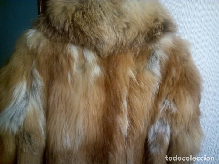 Segunda Mano: Abrigo piel zorro canadiense talla 44 46 impecable. - Foto 17 - 202917920