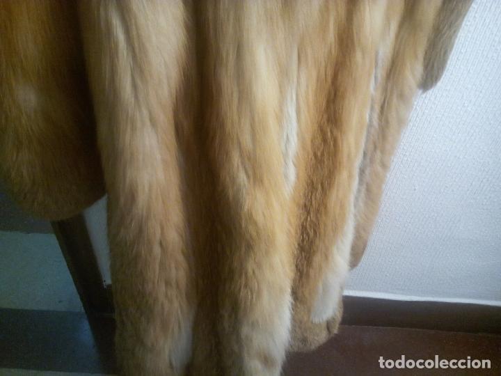 Segunda Mano: Abrigo piel zorro canadiense talla 44 46 impecable. - Foto 18 - 202917920