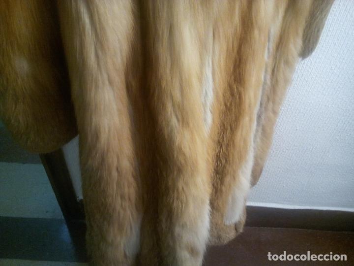 Segunda Mano: Abrigo piel zorro canadiense talla 44 46 impecable. - Foto 19 - 202917920