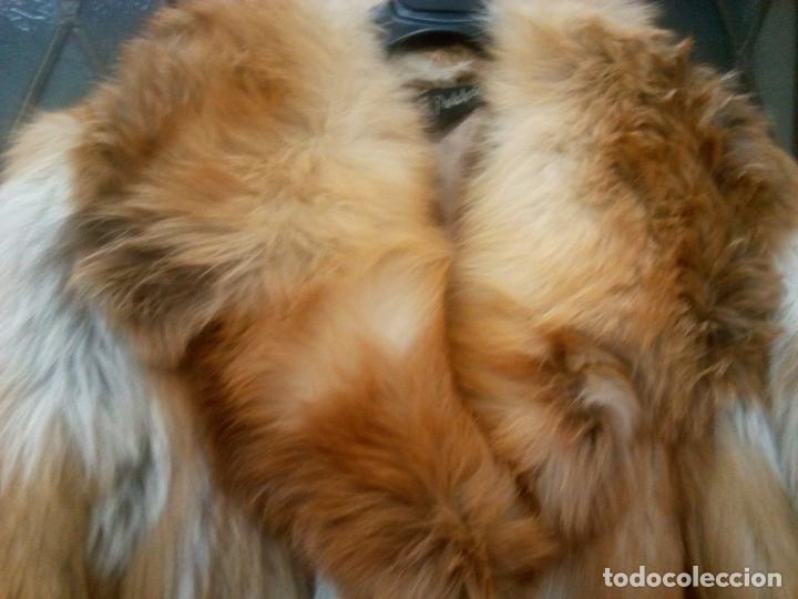Segunda Mano: Abrigo piel zorro canadiense talla 44 46 impecable. - Foto 20 - 202917920