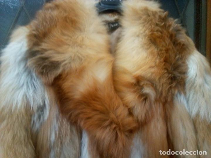 Segunda Mano: Abrigo piel zorro canadiense talla 44 46 impecable. - Foto 21 - 202917920