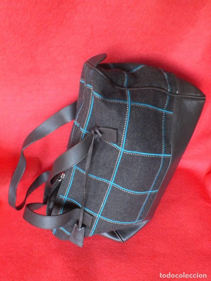 Segunda Mano: bolso piel marca ACOSTA DE PIEL Y TELA BORDADA - Foto 10 - 206262117