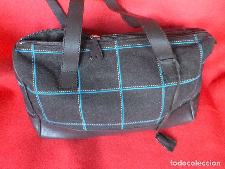 Segunda Mano: bolso piel marca ACOSTA DE PIEL Y TELA BORDADA - Foto 12 - 206262117