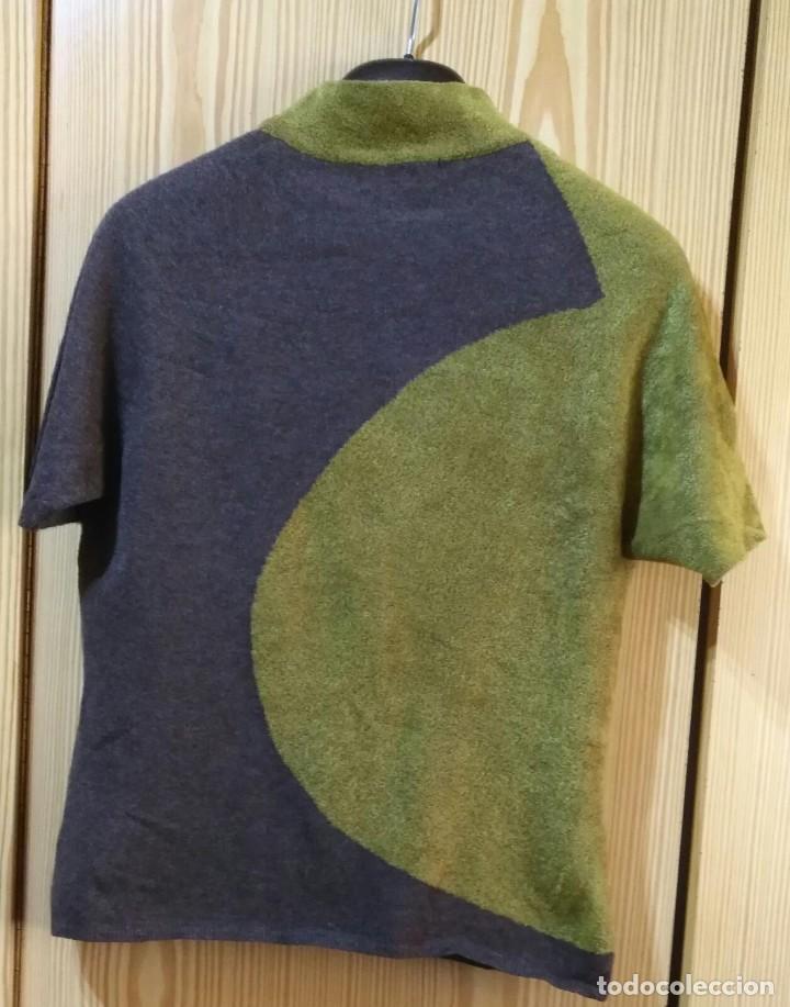 Segunda Mano: RB 67 Jersei bicolor manga corta y cuello cerrado ESTEVE SITA MUR - Talla 44 - Foto 5 - 210038353