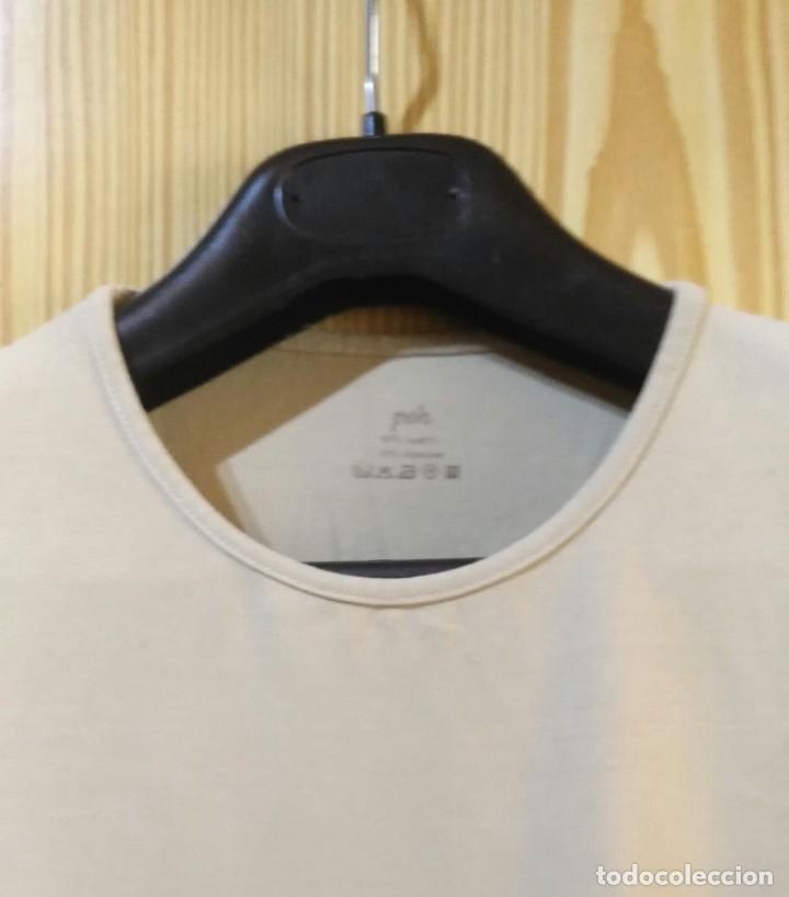 Segunda Mano: RB 68 Camiseta manga corta beige PEH - Modal/Elastano - Medidas interior - Foto 2 - 210040271