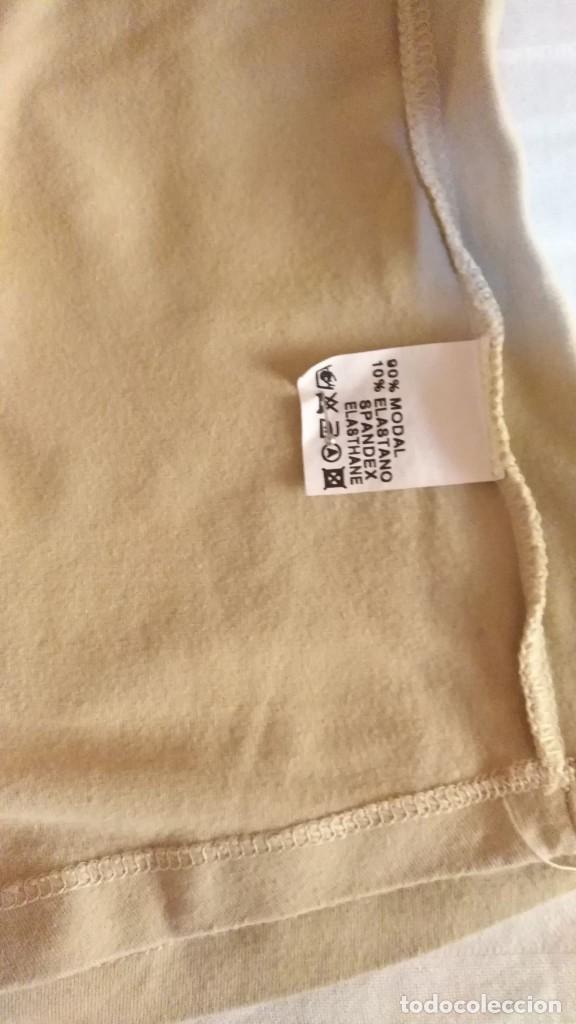 Segunda Mano: RB 68 Camiseta manga corta beige PEH - Modal/Elastano - Medidas interior - Foto 5 - 210040271