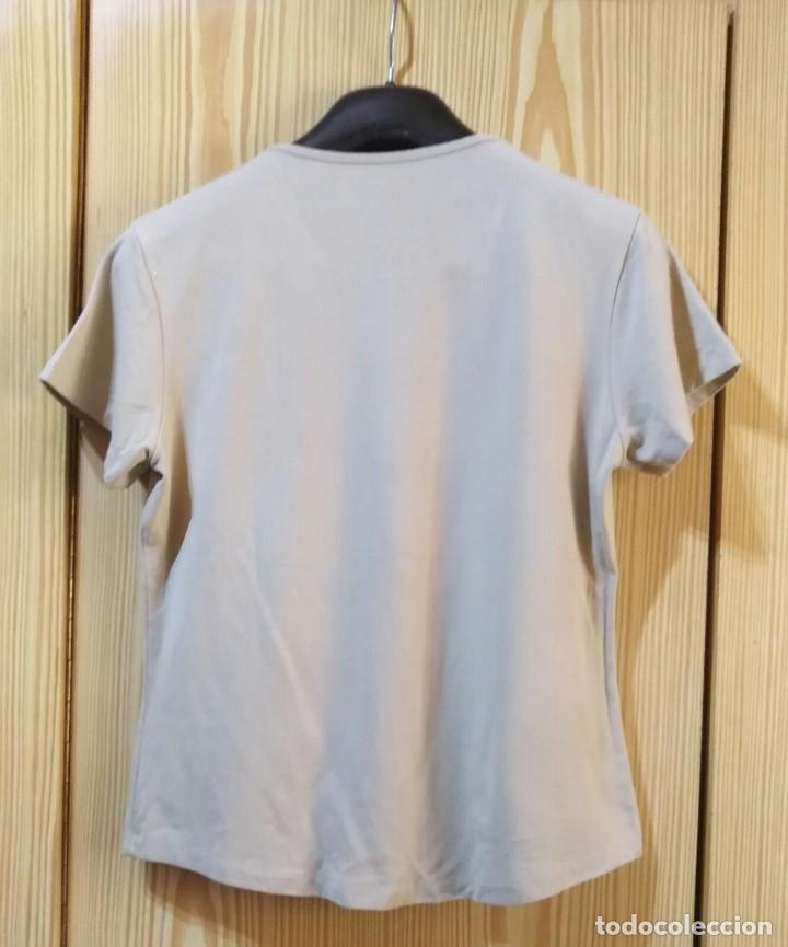 Segunda Mano: RB 68 Camiseta manga corta beige PEH - Modal/Elastano - Medidas interior - Foto 6 - 210040271