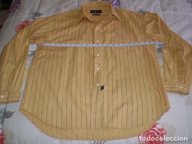 Segunda Mano: Lote 3 camisas de hombre en muy buen estado (Armani Jeans m/c, Ralph Lauren m/l, Tommy Hilfiger m/c) - Foto 7 - 213241466