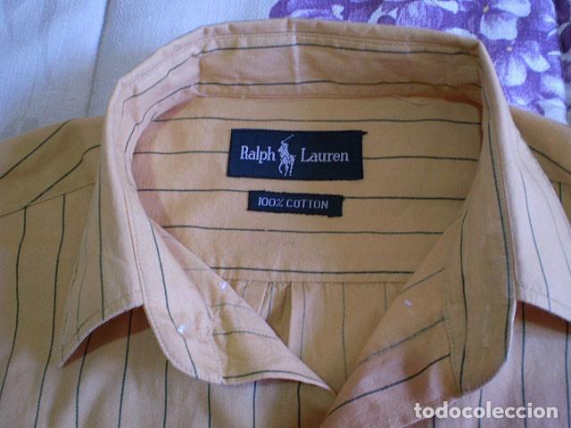 Segunda Mano: Lote 3 camisas de hombre en muy buen estado (Armani Jeans m/c, Ralph Lauren m/l, Tommy Hilfiger m/c) - Foto 9 - 213241466