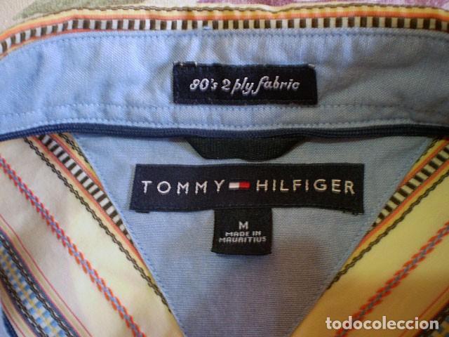 Segunda Mano: Lote 3 camisas de hombre en muy buen estado (Armani Jeans m/c, Ralph Lauren m/l, Tommy Hilfiger m/c) - Foto 15 - 213241466