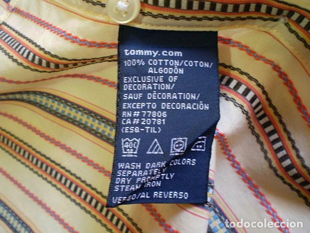 Segunda Mano: Lote 3 camisas de hombre en muy buen estado (Armani Jeans m/c, Ralph Lauren m/l, Tommy Hilfiger m/c) - Foto 16 - 213241466