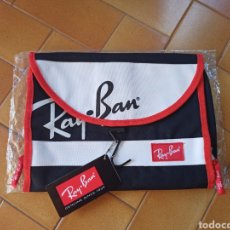 Segunda Mano: NOTEBOOK FUNDA NETBOOK MAC BOOK RAY BAN RAY-BAN CARTERA ESTUCHE. Lote 213420575