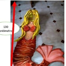 Segunda Mano: DISFRAZ DE SIRENA DE GOMAESPUMA. Lote 217003692