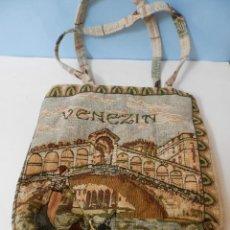 Segunda Mano: BOLSO DE VENECIA IMAGENES DE ITALIA. Lote 217899082