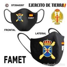 Segunda Mano: MASCARILLA EJERCITO DE TIERRA - FAMET. Lote 223778398