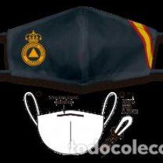 Segunda Mano: MASCARILLA - TNT - PROTECCIÓN CIVIL - NEGRA - 25 LAVADOS. Lote 224748775