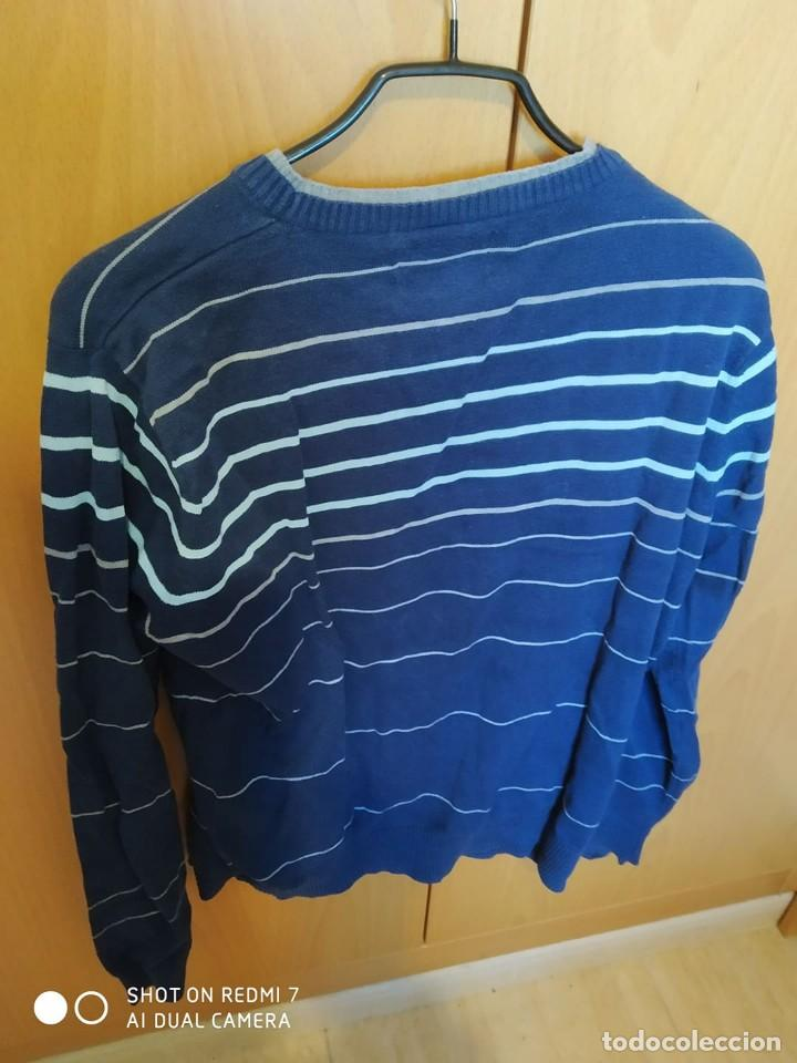 Segunda Mano: sueter jersey a rayas manga larga Greeen coast El Corte Ingles t L manga larga - Foto 2 - 235815765