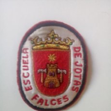 Segunda Mano: PARCHE DE TELA DE ESCUELA DE JOTA SALCES. Lote 280113123