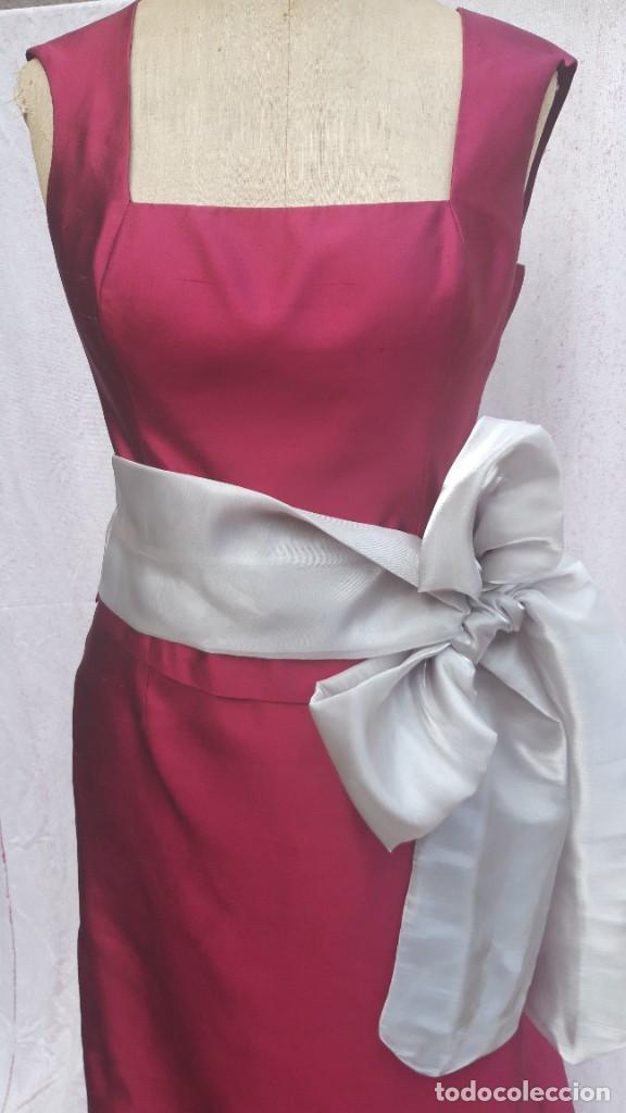 Segunda Mano: Conjunto de Jesus del Pozo, de falda y cuerpo en seda,para fiesta o ceremonia. - Foto 10 - 284176278
