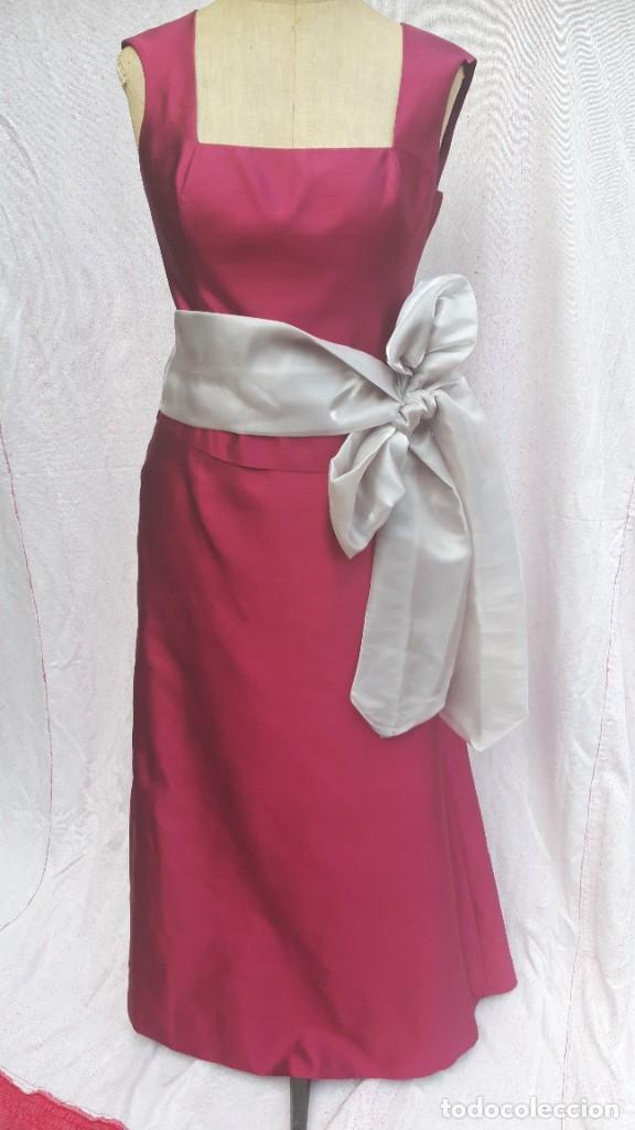 Segunda Mano: Conjunto de Jesus del Pozo, de falda y cuerpo en seda,para fiesta o ceremonia. - Foto 11 - 284176278