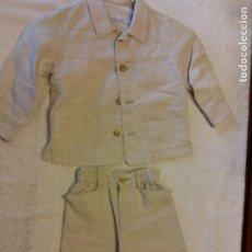 Seconda Mano: BONITO CONJUNTO INFANTIL. MARCA SCHUSS KID. COLOR BEIGE. TALLA 1. Lote 284231673